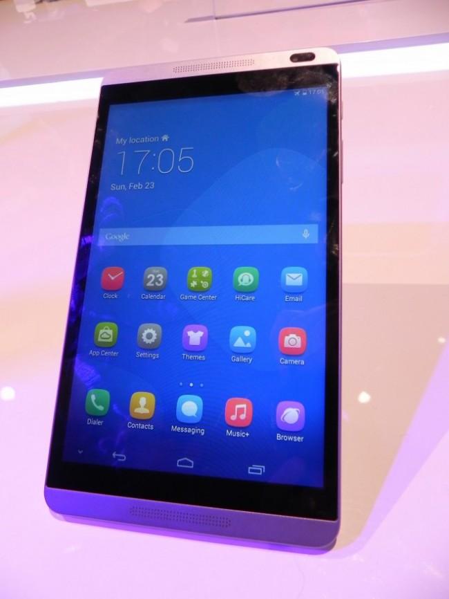 Huawei MediaPad M1 вживую