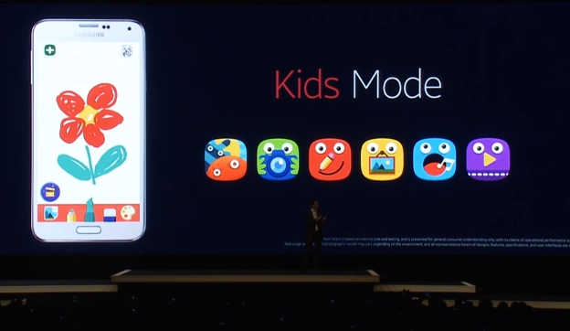 Samsung Galaxy S5 Kids Mode